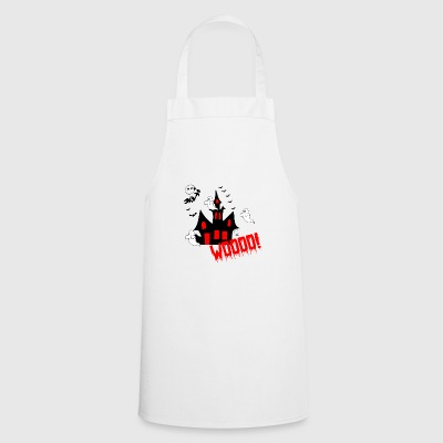 WOOOOO HOUSE | Ghost house - Cooking Apron
