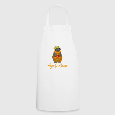 Hedgehog in the fog, Crown, Flower Hogs and Kisses - Cooking Apron