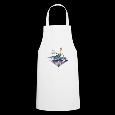 The woman with diamond, chic and sexy - Cooking Apron