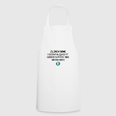 I like it and I download it - Cooking Apron