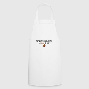 Watch your language - Cooking Apron