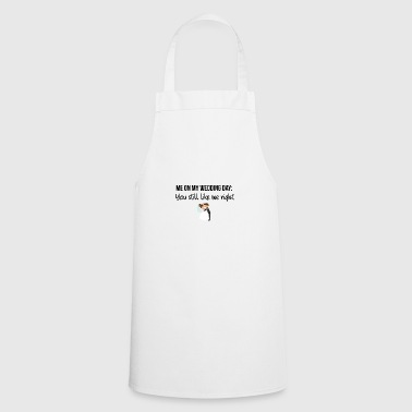 Wedding day - Cooking Apron
