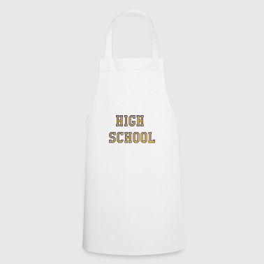 High school - Cooking Apron