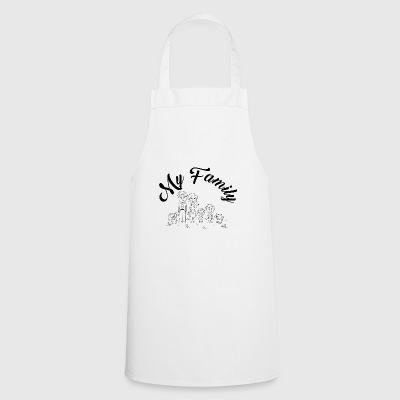 my family - Cooking Apron