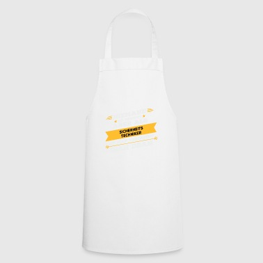 Security technician profession gift - Cooking Apron