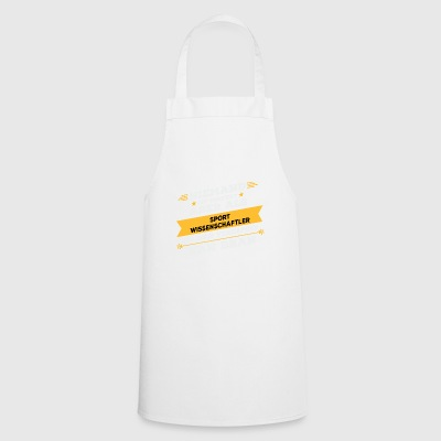 Sports scientist occupation gift - Cooking Apron