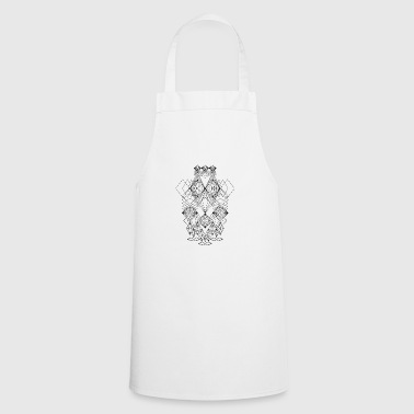 Abstract Faces Drawing Crazy Art - Cooking Apron