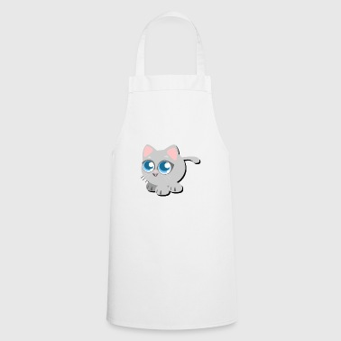 cute little kitten - Cooking Apron