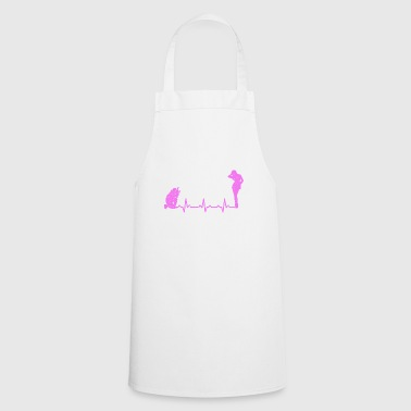 Nude photography model heartbeat heartbeat gift - Cooking Apron