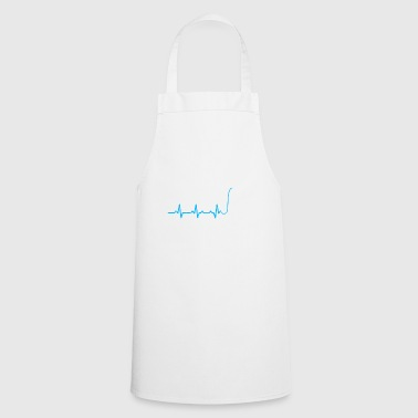 MC rapping heartbeat microphone gift heartbeat - Cooking Apron
