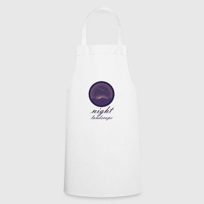 Landscape at night - Cooking Apron