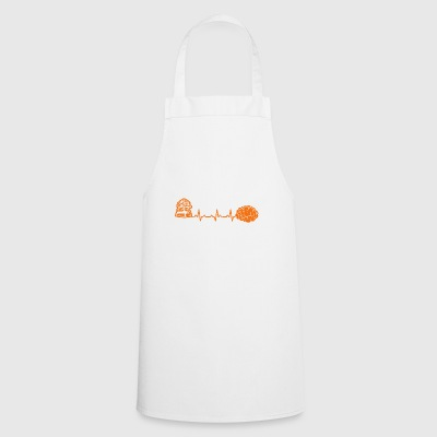 Reading heartbeat learning gift heartbeat - Cooking Apron