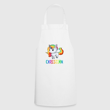 Christian unicorn - Cooking Apron