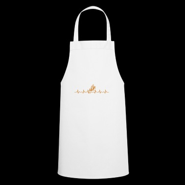 Riding heartbeat gift jump dressage horse - Cooking Apron