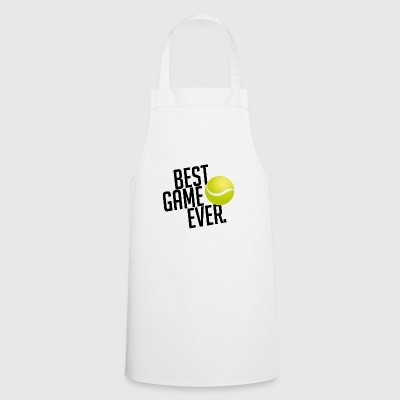 BEST GAME EVER TENNIS TENNIS PLAYER GIFT - Cooking Apron