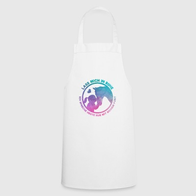 Horse Lover Horsewoman Loves Her Pony Gift - Cooking Apron