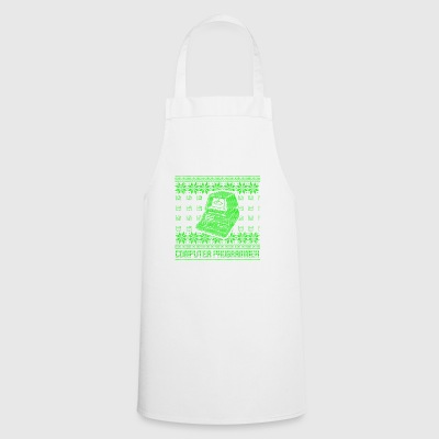 Program ugly sweater xmas gift code - Cooking Apron