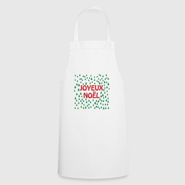Christmas trees and Merry Christmas - Cooking Apron