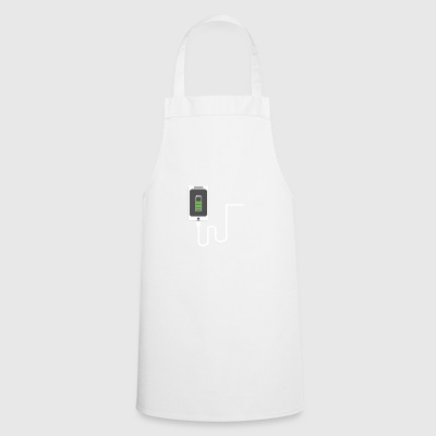 Partnerlook Mobile phone partner BFF Battery Love Teil1 - Cooking Apron