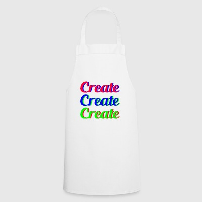 Create Create Create - Cooking Apron