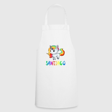 Unicorn Santiago - Cooking Apron