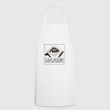 i eat noob for breakfast esports gaming shirt - Cooking Apron