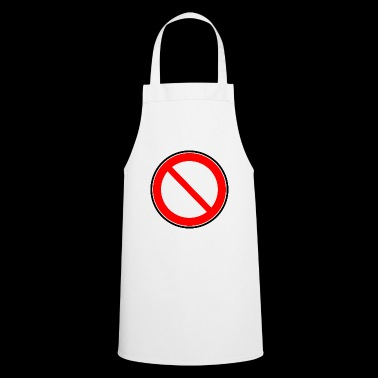 Interdiction Interdiction des signes - Tablier de cuisine