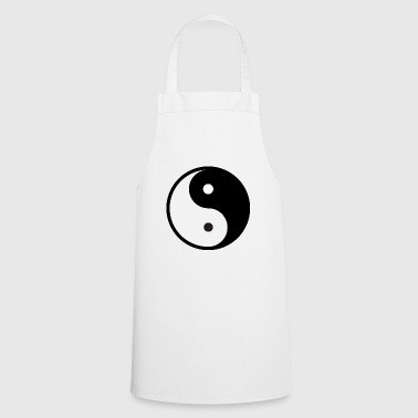 Ying Yang sign icon - Cooking Apron