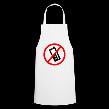 Cellphone prohibited - Cooking Apron