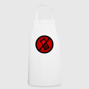 Forbidden phone :) - Cooking Apron