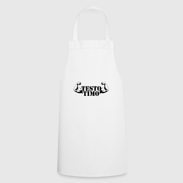 Fun shirt Testo Timo - Great gift idea! - Cooking Apron
