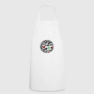 play, gamble, gaming, golf - Cooking Apron