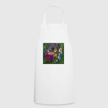 alice in wonderland tea pary - Cooking Apron
