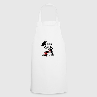 KEEP CALM ZOMBIE - Cooking Apron