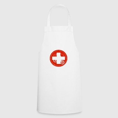 Bicycle bmx love biking Switzerland - Cooking Apron