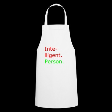 smart person - Cooking Apron