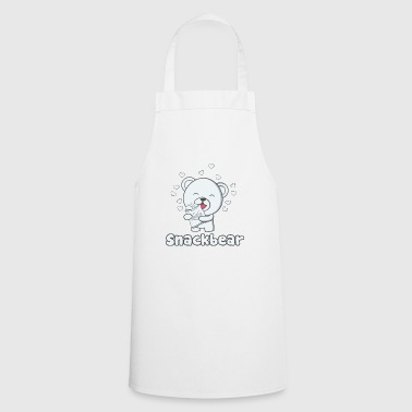Snack bear / snack bear with heart - Cooking Apron