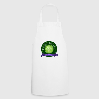 fresh organic 100% natural eco friendly girl - Cooking Apron