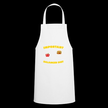 BALANCED DIET - Cooking Apron