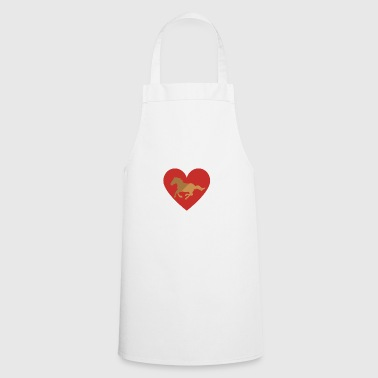 My love for my horse - Cooking Apron