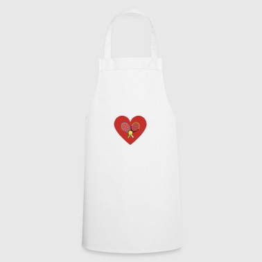 My love for tennis - Cooking Apron