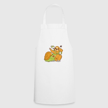 Sloth and snail get mixed up - Cooking Apron