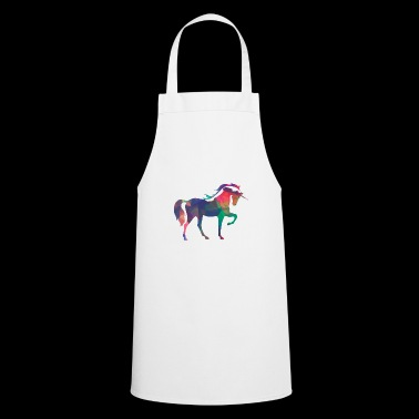 Horse unicorn mythology animal gift children horn - Cooking Apron