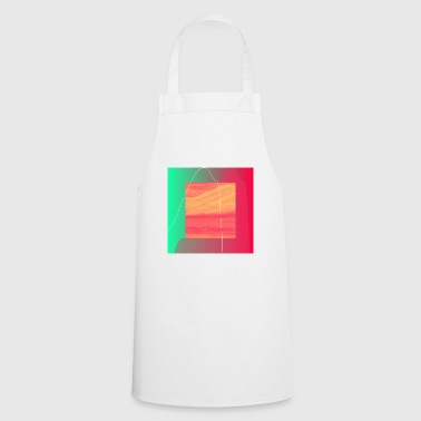 Illustration in minimalistic design - Cooking Apron