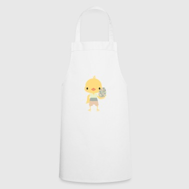Easter gift kids easter egg chick animal chicken - Cooking Apron