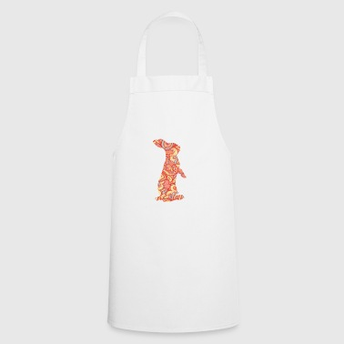 Easter bunny rabbit kids gift easter colorful - Cooking Apron