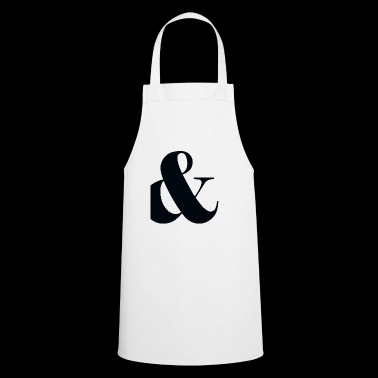 and, plus, punctuation, - Cooking Apron