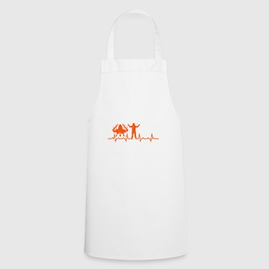 Aircraft Crewman Heartbeats Gifts T-shirt - Cooking Apron