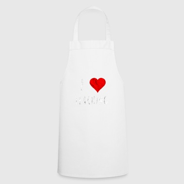 I love teaching teacher saying gift idea to school - Cooking Apron