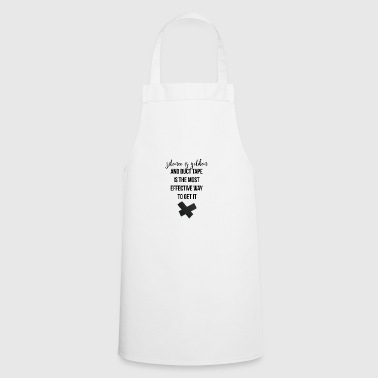 Silence is golden - Cooking Apron